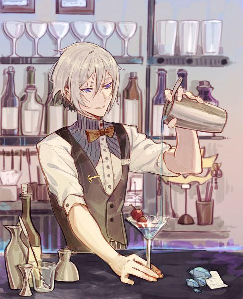 Tags: Anime, Pixiv Id 3420822, Fate/Grand Order, Saber (Lanling Wang), Bartender, Fanart From Pixiv, Pixiv, Fanart