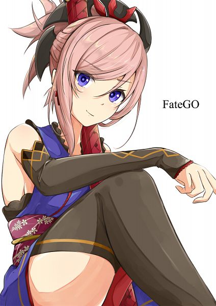 Tags: Anime, Pixiv Id 3580504, Fate/Grand Order, Saber (Miyamoto Musashi), PNG Conversion, Mobile Wallpaper