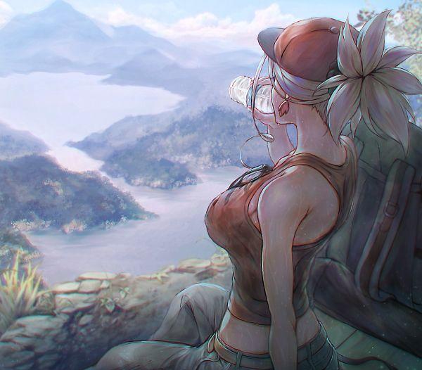 Tags: Anime, Pixiv Id 750980, Fate/Grand Order, Saber (Miyamoto Musashi), Pixiv, Fanart, Fanart From Pixiv