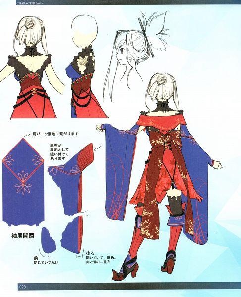 Tags: Anime, Koyama Hirokazu, DELiGHTWORKS, Fate/Grand Order material V, Fate/Grand Order, Saber (Miyamoto Musashi), Scan, Official Art