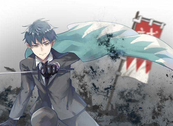 Tags: Anime, Pixiv Id 10542147, Fate/Grand Order, Saber (Saitou Hajime), Fanart From Pixiv, Pixiv, Fanart