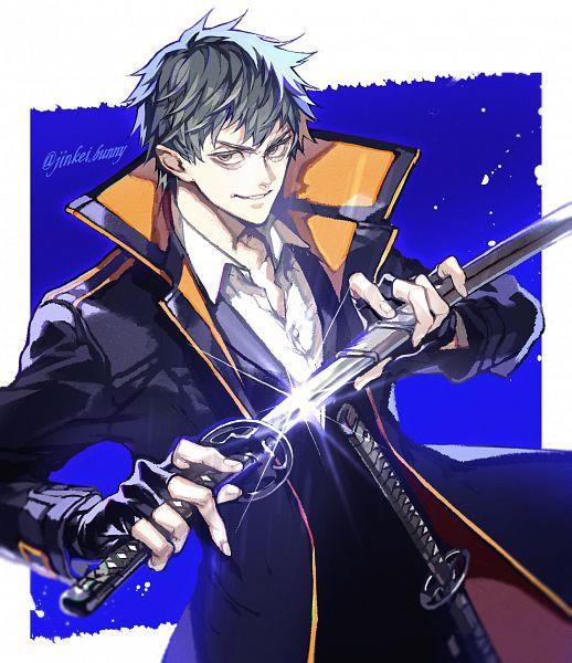 Tags: Anime, Kuroiwa Madoka, Fate/Grand Order, Saber (Saitou Hajime), Pixiv, Fanart, Fanart From Pixiv