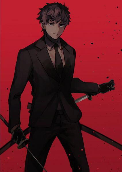 Tags: Anime, Pixiv Id 2403500, Fate/Grand Order, Saber (Saitou Hajime), Fanart From Pixiv, Pixiv, Fanart