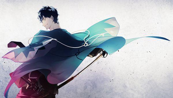 Tags: Anime, Pixiv Id 20415647, Fate/Grand Order, Saber (Saitou Hajime), Pixiv, Fanart, Fanart From Pixiv