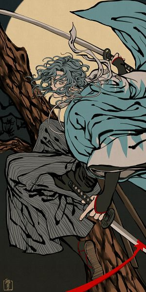 Tags: Anime, Pixiv Id 5237097, Fate/Grand Order, Saber (Saitou Hajime), Fanart From Pixiv, Pixiv, Fanart