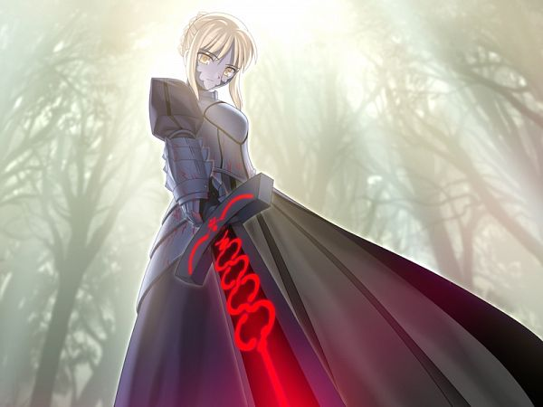 Tags: Anime, Takeuchi Takashi, TYPE-MOON, Fate/stay night, Saber Alter, Saber (Fate/stay night), CG Art
