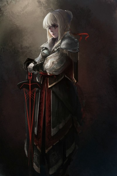 Tags: Anime, Pixiv Id 3707242, TYPE-MOON, Fate/stay night, Saber Alter, Saber (Fate/stay night), Ezio Auditore Da Firenze (Cosplay), Avalon (Sheath), Mobile Wallpaper, Fanart, Pixiv, Fanart From Pixiv