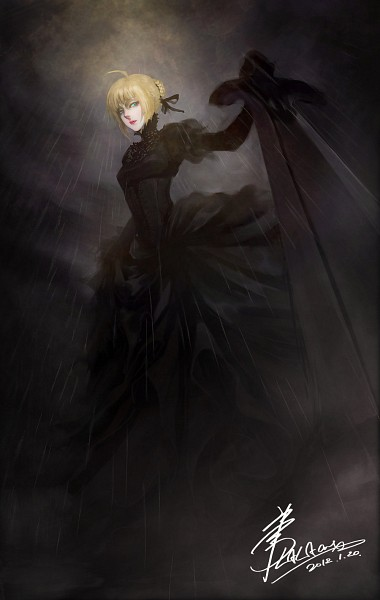 Tags: Anime, Lalaax (Artist), Fate/stay night, Saber (Fate/stay night), Saber Alter, deviantART, Fanart From DeviantART, Fanart