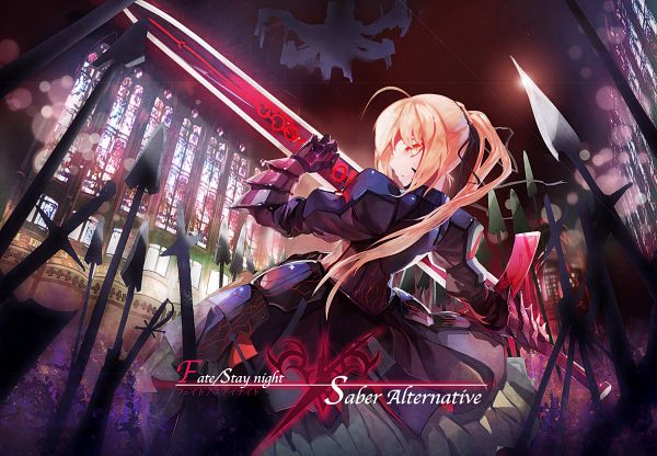 Tags: Anime, Pixiv Id 1154538, Fate/stay night, Saber Alter, Saber (Fate/stay night), Excalibur Morgan, Fanart, Pixiv, Fanart From Pixiv