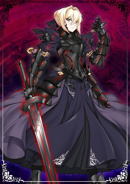 Tags: Anime, Merufena, Fate/stay night, Saber Alter, Saber (Fate/stay night), Excalibur Morgan