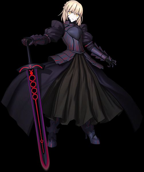 Tags: Anime, Sega, Fate/Grand Order Arcade, Fate/Grand Order, Saber Alter, Saber (Fate/stay night), 3D, Official Art