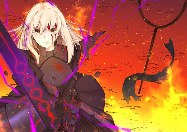 Tags: Anime, Pixiv Id 13694918, Fate/Grand Order, Saber (Fate/stay night), Saber Alter, Fanart, Fanart From Pixiv, Pixiv
