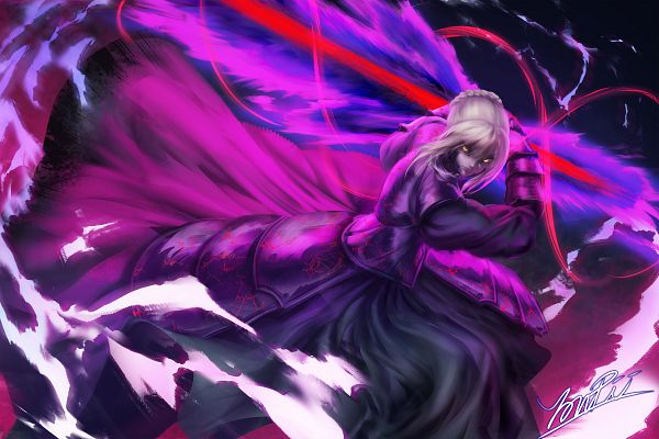Tags: Anime, YonPii, Fate/stay night, Saber (Fate/stay night), Saber Alter, Pixiv, Fanart From Pixiv, Fanart