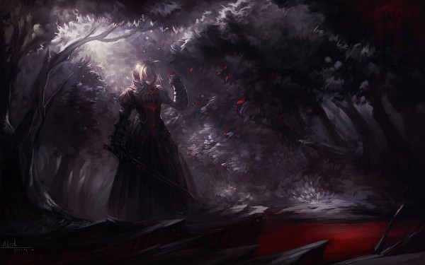 Tags: Anime, Alcd, Fate/stay night, Saber (Fate/stay night), Saber Alter, Pixiv, Fanart