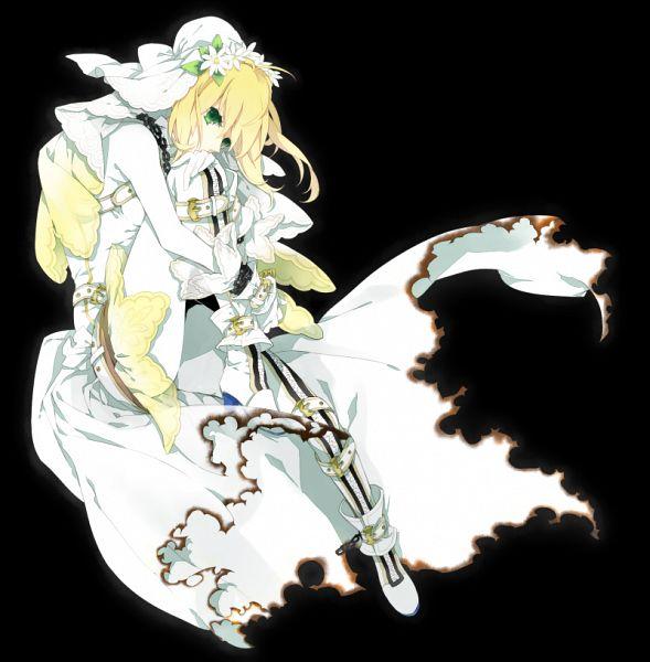 Tags: Anime, Fujiwara Kai, Fate/EXTRA CCC, Fate/EXTRA, Saber Bride, Saber (Fate/EXTRA), Pixiv, Fanart From Pixiv, Fanart, PNG Conversion