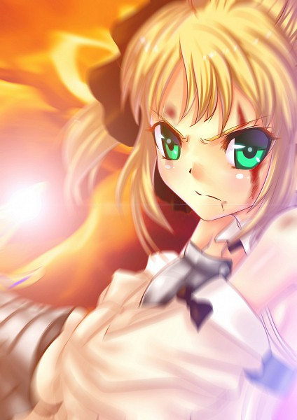 Tags: Anime, Mikoto (mio), Fate/unlimited codes, Saber Lily, Saber (Fate/stay night)