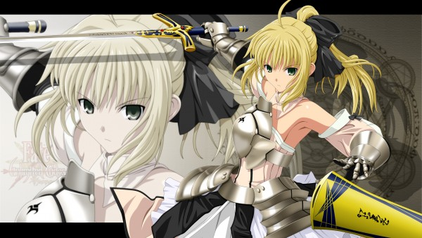 Tags: Anime, Fate/unlimited codes, Fate/stay night, Saber Lily, HD Wallpaper, Wallpaper