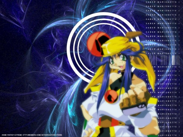 Tags: Anime, Saber Marionette, Lime, Wallpaper