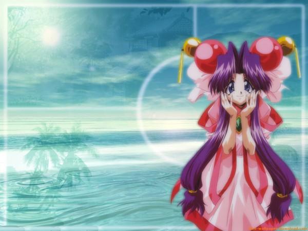 Tags: Anime, Saber Marionette, Cherry (Saber Marionette), Wallpaper