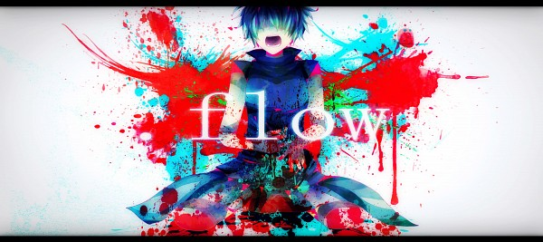 Tags: Anime, Pixiv Id 1060787, .flow, Sabitsuki, Fanart, Facebook Cover