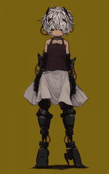 Tags: Anime, Met-tha, .flow, Sabitsuki, Mechanical Arm, Mechanical Leg, Fanart From Pixiv, PNG Conversion, Pixiv, Fanart, Mobile Wallpaper