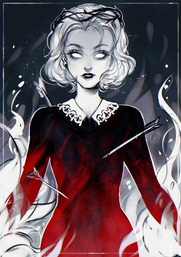 Tags: Anime, Ladygelion, Chilling Adventures Of Sabrina, Sabrina Spellman, deviantART, Fanart, Fanart From DeviantART
