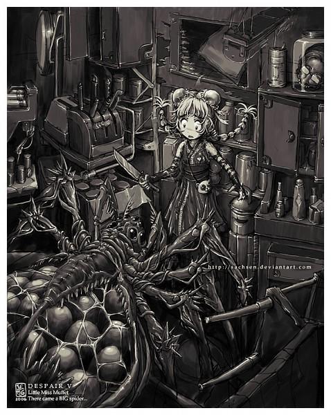 Tags: Anime, Sachsen, Little Miss Muffet, Spider, Cabinet, deviantART