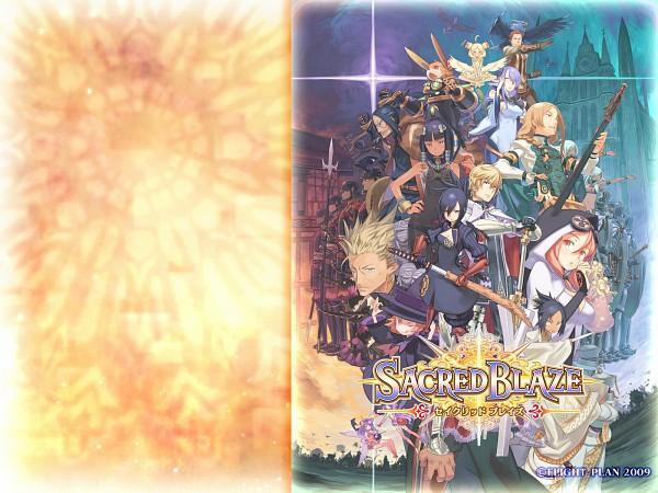 Tags: Anime, Kuroboshi Kouhaku, Sacred Blaze, Kiyora, Official Art, Official Wallpaper, Wallpaper