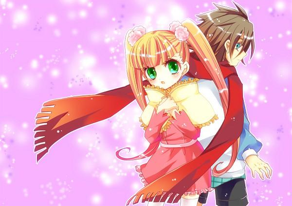 Tags: Anime, Pixiv Id 218170, Sacred Seven, Aiba Ruri, Tandouji Aruma