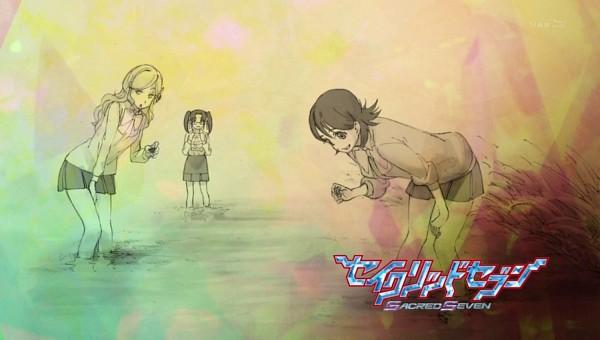 Tags: Anime, Sacred Seven, Sacred Seven - Eyecatcher, Eyecatcher