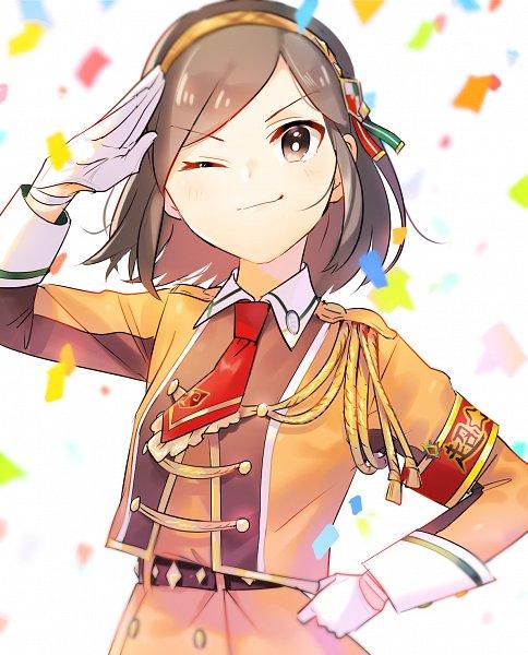 Tags: Anime, Toyohide-chan, THE iDOLM@STER: Cinderella Girls, Saejima Kiyomi, Pixiv, Fanart, Fanart From Pixiv