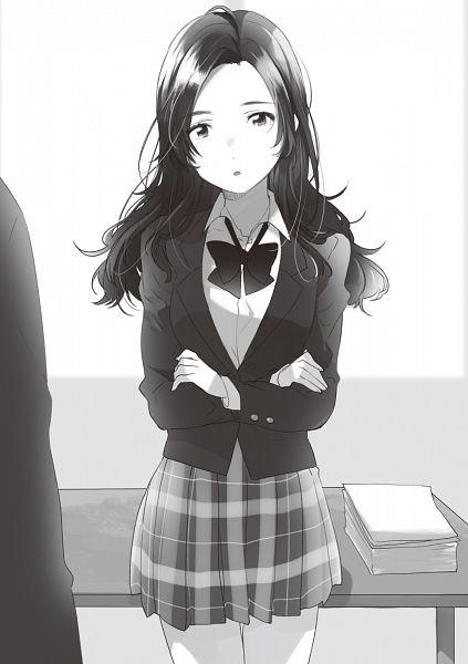 Tags: Anime, Flyco_, Saeki-san To Hitotsu Yane No Shita, Novel Illustration, Official Art, Character Request