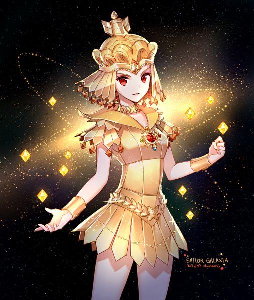 Saffer Crystal - Sailor Galaxia