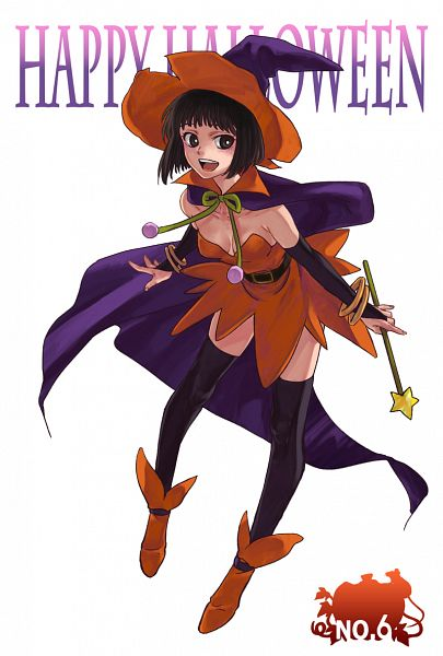 Tags: Anime, momoco (Pixiv451367), No.6, Safu, Witch Costume, Pixiv, Fanart