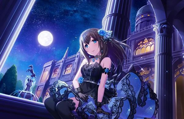 Tags: Anime, Annin Douhu, Annindoufu (Oicon), THE iDOLM@STER: Cinderella Girls, Sagisawa Fumika, Lace Gloves, Fountain