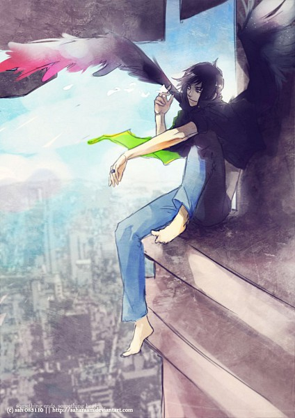 Tags: Anime, Saharaam, deviantART, Original