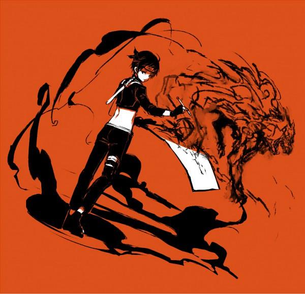 Tags: Anime, NARUTO, Sai, Painting (Action), Brush