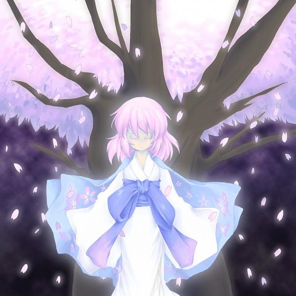 Tags: Anime, Touhou, Saigyouji Yuyuko (Living), Saigyou Ayakashi, Saigyouji Yuyuko