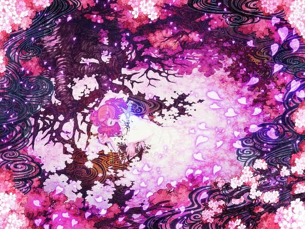 Tags: Anime, Zounose, Touhou, Saigyou Ayakashi, Saigyouji Yuyuko, Saigyouji Yuyuko (Living), Disappearing