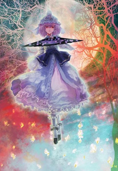Tags: Anime, Heiyuen, Touhou, Saigyouji Yuyuko, Fanart From Pixiv, Pixiv, Fanart, Yuyuko Saigyouji