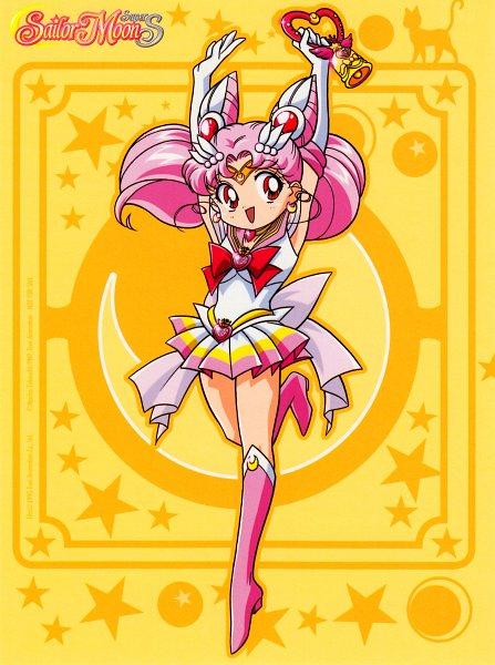 Tags: Anime, Marco Albiero, Bishoujo Senshi Sailor Moon, Chibiusa, Sailor Chibi Moon, Crystal Carillon, Chibi Moon Compact, Official Art, Scan