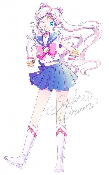 Tags: Anime, Saki Kunkatan, Bishoujo Senshi Sailor Moon, Sailor Moon (Character), Tsukino Usagi, Sailor V (Cosplay), Henshin Brooch, Fanart, Mobile Wallpaper, Pixiv, Fanart From Pixiv