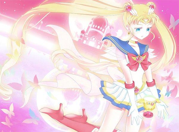 Tags: Anime, Pixiv Id 225415, Bishoujo Senshi Sailor Moon, Sailor Moon (Character), Tsukino Usagi, Silver Millenium, Crisis Moon Compact, Cosmic Heart Compact, Holy Grail (Sailor Moon), Fanart From Pixiv, Fanart, Pixiv