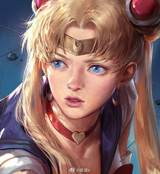 Tags: Anime, Pixiv Id 1417939, Bishoujo Senshi Sailor Moon, Sailor Moon (Character), Tsukino Usagi, Sailor Moon Redraw, Weibo