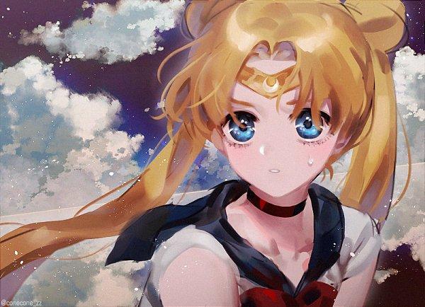 Tags: Anime, Pixiv Id 15634870, Bishoujo Senshi Sailor Moon, Sailor Moon (Character), Tsukino Usagi, Sailor Moon Redraw