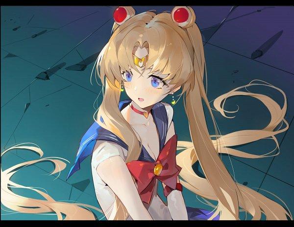 Tags: Anime, Crimson K Night, Bishoujo Senshi Sailor Moon, Sailor Moon (Character), Tsukino Usagi, Sailor Moon Redraw