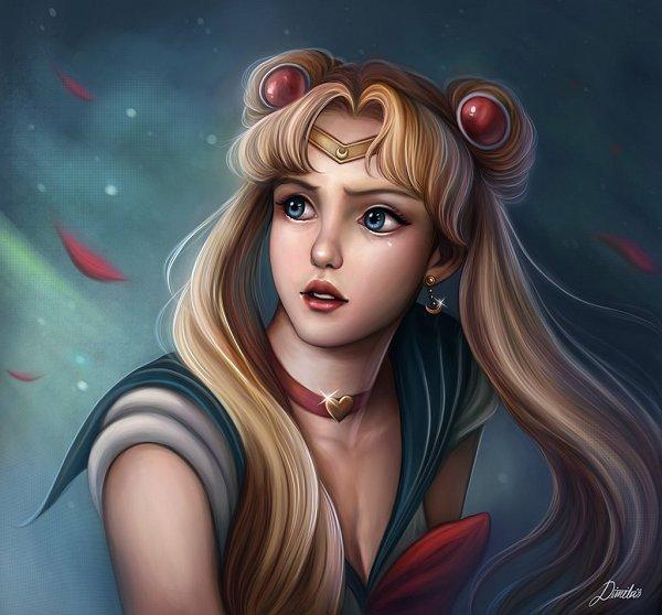 Tags: Anime, Dim Draws, Bishoujo Senshi Sailor Moon, Sailor Moon (Character), Tsukino Usagi, Sailor Moon Redraw