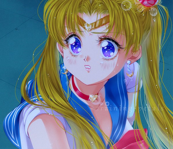 Tags: Anime, Raining Petals, Bishoujo Senshi Sailor Moon, Sailor Moon (Character), Tsukino Usagi, deviantART, Sailor Moon Redraw