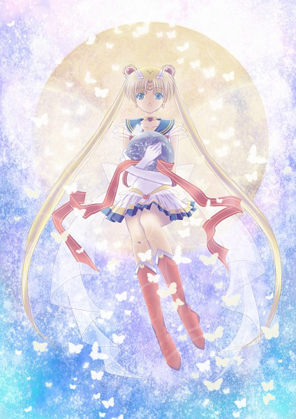 Tags: Anime, Lazy Orange, Bishoujo Senshi Sailor Moon, Sailor Moon (Character), Tsukino Usagi, Mobile Wallpaper, Fanart, Pixiv