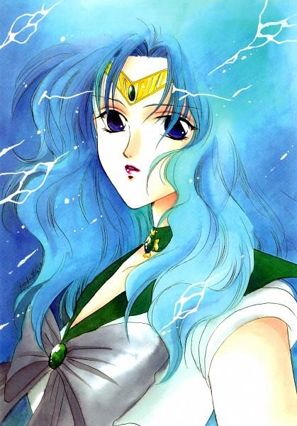 Tags: Anime, Minami Haruka (Mangaka), Bishoujo Senshi Sailor Moon, Kaiou Michiru, Sailor Neptune, Mobile Wallpaper, Fanart, Doujinshi Cover